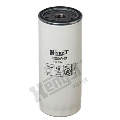 H200W40 HENGST FILTER Filtre à huile pour VOLVO FL 12 - à acheter dès maintenant