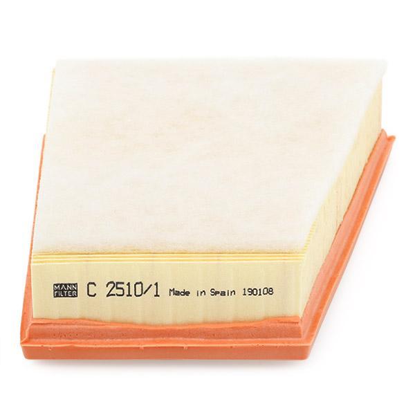 C 2510/1 Luftfilter MANN-FILTER - Markenprodukte billig