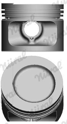 NÜRAL: Original Motor Kolben 87-109400-50 ()