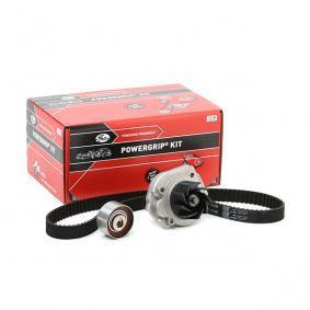 K015627XS GATES Met waterpomp, Micro-V® Stretch Fit® Waterpomp + distributieriem set KP15627XS koop goedkoop