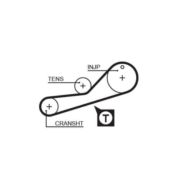 KP35251XS1 Zahnriemen Kit + Wasserpumpe GATES T42000 - Große Auswahl - stark reduziert