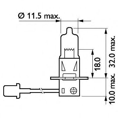 13336MDC1 Glühlampe, Fernscheinwerfer PHILIPS 77460660 - Große Auswahl - stark reduziert