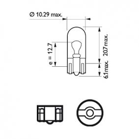 12961LLECOCP Lemputė, indikatorius PHILIPS - Pigus kokybiški produktai