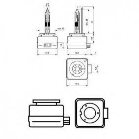 42306VIC1 Ampoule, projecteur longue portée PHILIPS - Produits de marque bon marché