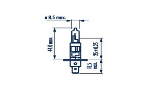 48708 NARVA Glühlampe, Fernscheinwerfer für MAN online bestellen