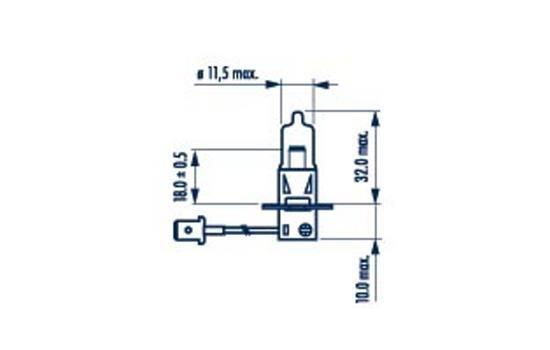 48709 NARVA Glühlampe, Fernscheinwerfer für IVECO online bestellen