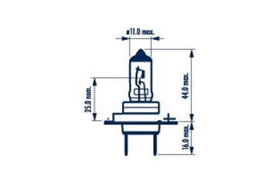 48729 NARVA Glühlampe, Fernscheinwerfer für MAN online bestellen