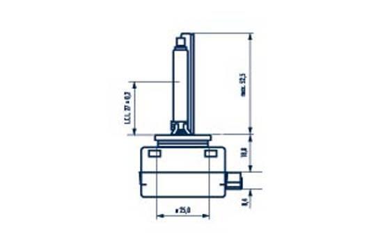 NARVA: Original Fernscheinwerfer Glühlampe 84010 ()