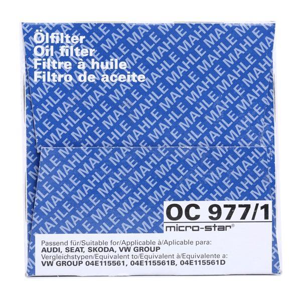 OC 977/1 Motorölfilter MAHLE ORIGINAL in Original Qualität