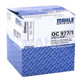OC977/1 Filter MAHLE ORIGINAL Erfahrung