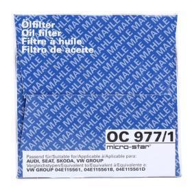 OC 977/1 Ölfilter MAHLE ORIGINAL in Original Qualität