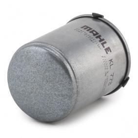 KL 778 Brændstof-filter MAHLE ORIGINAL - Billige mærke produkter