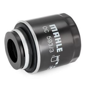 OC5933 Ölfilter MAHLE ORIGINAL OC 593/3 - Große Auswahl - stark reduziert