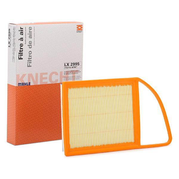 Zracni filter LX 2995 z izjemnim razmerjem med MAHLE ORIGINAL ceno in zmogljivostjo