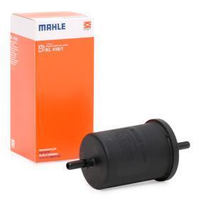 70542100 MAHLE ORIGINAL Leitungsfilter Höhe: 141,9mm, Gehäusedurchmesser: 55,4mm Kraftstofffilter KL 416/1 günstig kaufen