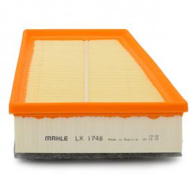 LX1748 Luftfilter MAHLE ORIGINAL Erfahrung