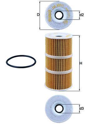 OX 389/1D Ölfilter MAHLE ORIGINAL Test