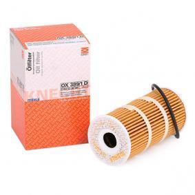 OX3891DECO MAHLE ORIGINAL Filtereinsatz Innendurchmesser 2: 17,5mm, Ø: 57,0mm, Höhe: 112,0mm Ölfilter OX 389/1D günstig kaufen