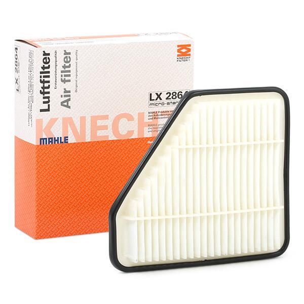 Zracni filter LX 2864 z izjemnim razmerjem med MAHLE ORIGINAL ceno in zmogljivostjo