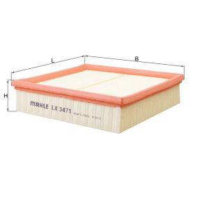Mahle LX2873 oe Filtre à air