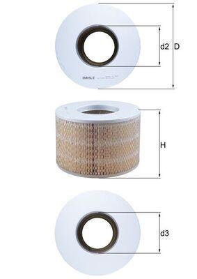 Zracni filter LX 1140 z izjemnim razmerjem med MAHLE ORIGINAL ceno in zmogljivostjo