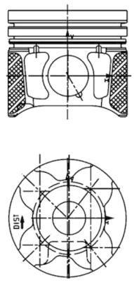 KOLBENSCHMIDT: Original Kolben 40179600 ()