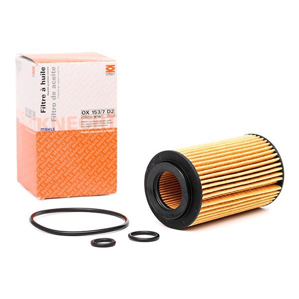 Ölfilter MAHLE ORIGINAL OX 153/7D2 Bewertungen