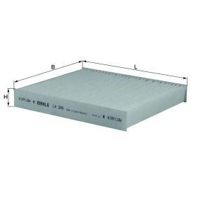 Koop en vervang Interieurfilter MAHLE ORIGINAL LA 345