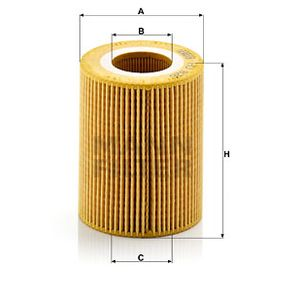Pirkti HU 826 x MANN-FILTER su tarpikliais / sandarikliais vidinis skersmuo: 38mm, Ø: 79mm, aukštis: 95mm Alyvos filtras HU 826 x nebrangu