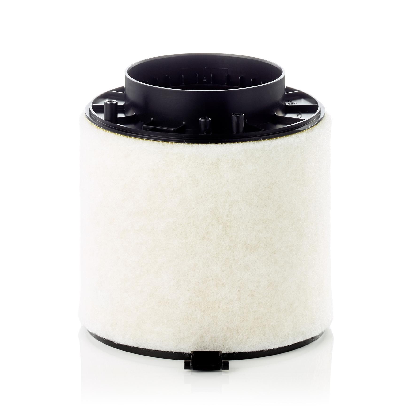 AUDI A4 2017 Luftfiltereinsatz - Original MANN-FILTER C 16 114/1 x Höhe: 168mm
