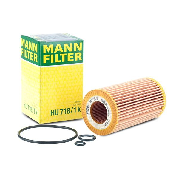 Filtro olio MANN-FILTER HU 718/1 k Recensioni