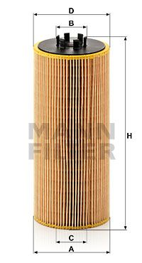 Original Alyvos filtras HU 12 110 x Mercedes