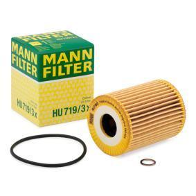 HU 719/3 x MANN-FILTER mit Dichtungen Innendurchmesser: 25mm, Ø: 64mm, Höhe: 83mm Ölfilter HU 719/3 x günstig kaufen