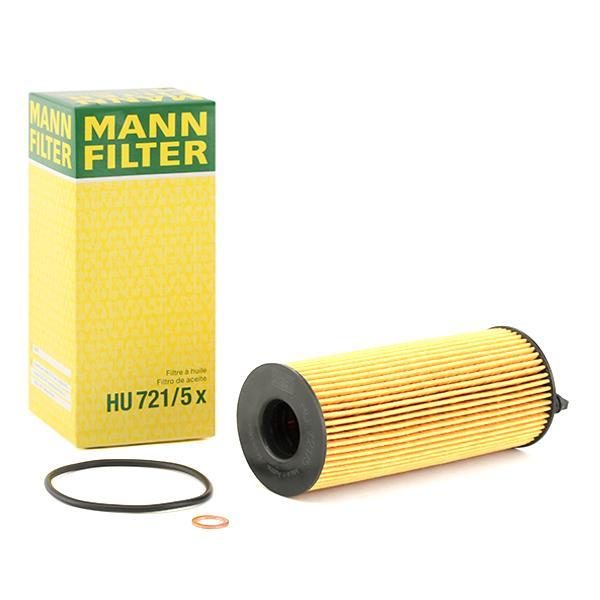 HU7215x Motorölfilter MANN-FILTER HU 721/5 x - Große Auswahl - stark reduziert