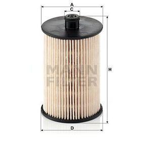 PU 823 x Kuro filtras MANN-FILTER - Sumažintų kainų patirtis