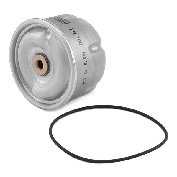 ZR700x Alyvos filtras MANN-FILTER ZR 700 x Platus pasirinkimas — didelės nuolaidos