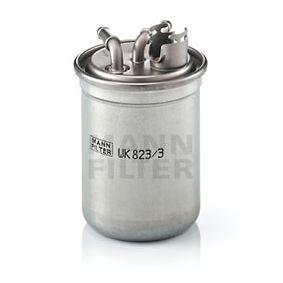 WK 823/3 x diesel filter MANN-FILTER in Original Qualität