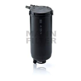 WK 939/14 x MANN-FILTER mit Dichtungen Höhe: 233mm Kraftstofffilter WK 939/14 x günstig kaufen