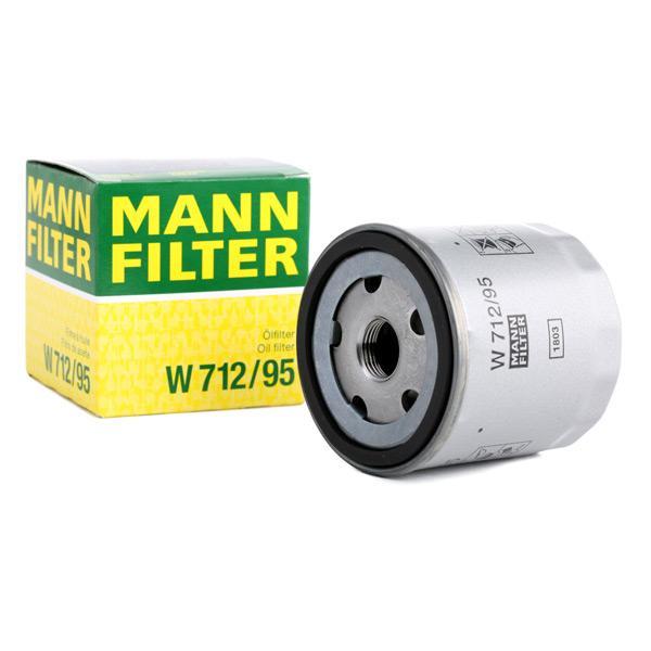 W71295 Olejový filter MANN-FILTER W 712/95 Obrovský výber — ešte väčšie zľavy
