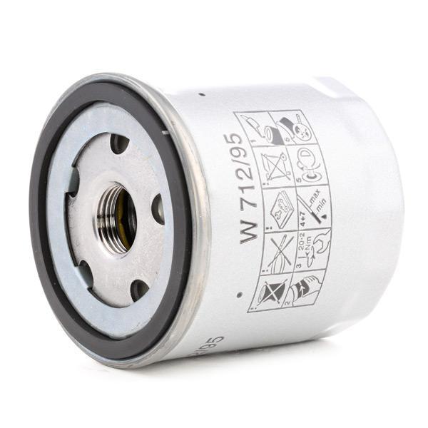 W 712/95 Olejový filter MANN-FILTER - Lacné značkové produkty