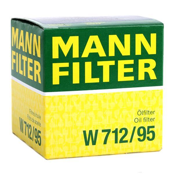 W712/95 Filtro olio motore MANN-FILTER esperienza a prezzi scontati