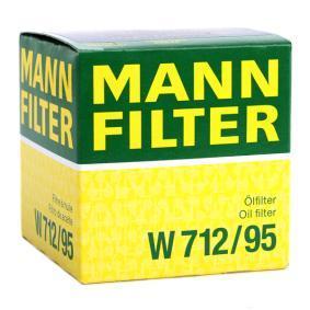 W712/95 Õlifilter MANN-FILTER - Soodsate hindadega kogemus