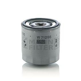 W 712/95 Oljni filter MANN-FILTER Test