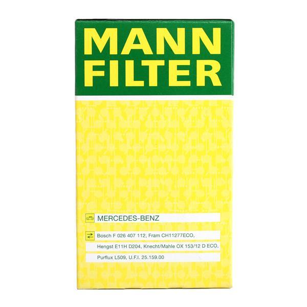 HU 7010 z Ölfilter MANN-FILTER Test