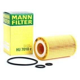 Comprare HU 7010 z MANN-FILTER con guarnizioni Diametro interno: 31mm, Ø: 64mm, Alt.: 110mm Filtro olio HU 7010 z poco costoso