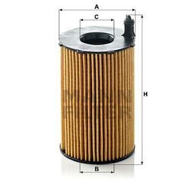 Pirkti HU 8005 z MANN-FILTER su tarpikliais / sandarikliais vidinis skersmuo: 29mm, Ø: 76mm, aukštis: 128mm Alyvos filtras HU 8005 z nebrangu