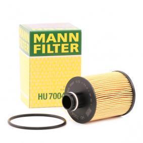 HU 7004/1 x MANN-FILTER with gaskets/seals Ø: 64mm, Height: 105mm Oil Filter HU 7004/1 x cheap