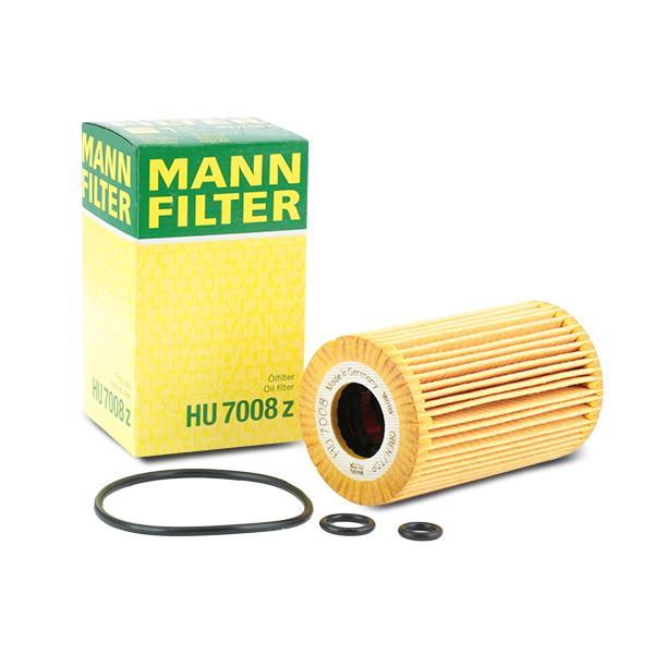 HU7008z Alyvos filtras MANN-FILTER HU 7008 z Platus pasirinkimas — didelės nuolaidos
