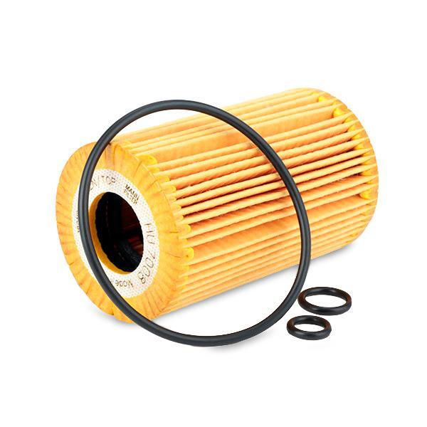 HU 7008 z Alyvos filtras MANN-FILTER - Pigus kokybiški produktai