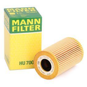 Achat de HU 7008 z MANN-FILTER avec joints Diamètre intérieur: 28mm, Ø: 63mm, Hauteur: 100mm Filtre à huile HU 7008 z pas chères